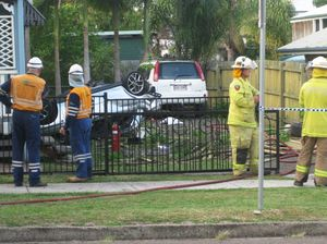 Fatal crash on Glebe Rd, Booval