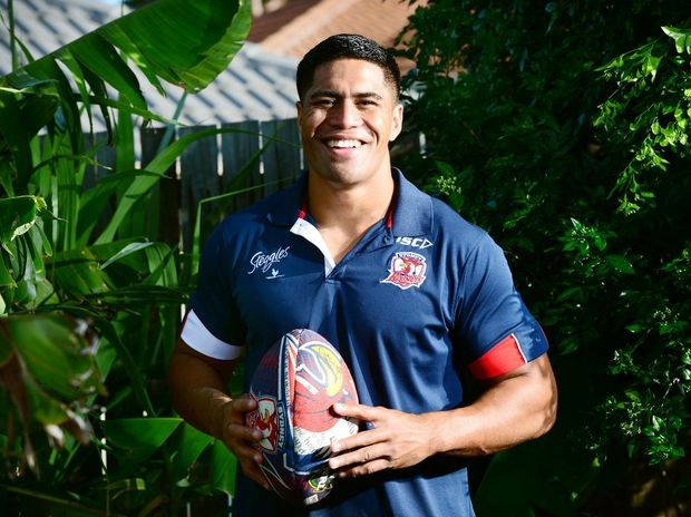 Sydney Roosters player Lama Tasi.