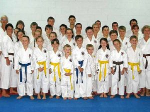 Gympie karate club grows both in strength and number