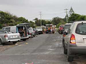 Illegal campers trash Byron Bay