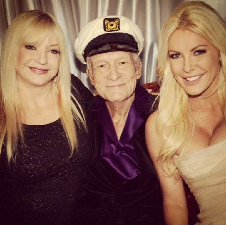 The ultimate sugar daddy, Hugh Hefner.