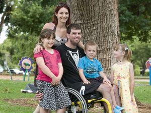 Shocking motorcycle crash inspires fund-raising effort