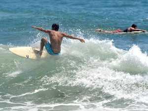 Surfing at Alexandra Headland