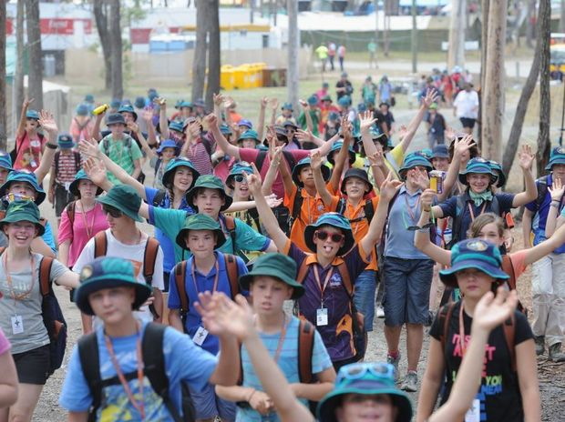 After the scouts leave the Maryborough showgrounds, there'll be a clearance sale.