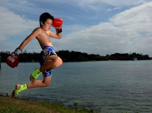 Bullying leads boy to career in muay thai kickboxing