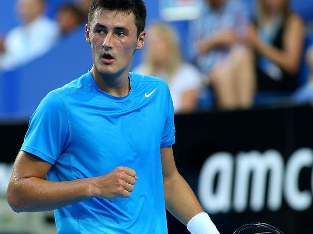 Young Australian tennis talent Bernard Tomic might feel that now is the time to make his move.