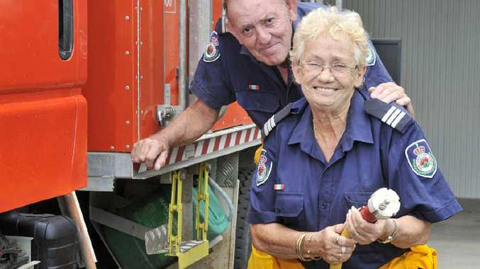 LONG SERVICE: Diane and Brian Fellows love volunteering for the Rural Fire Service, based in Casino.