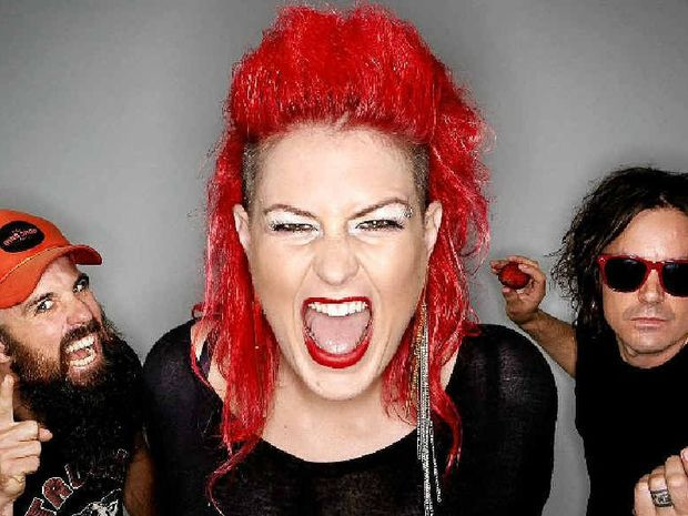 Dallas Frasca is looking forward to playing at Byron Bay Brewery and catching up with some good mates in her old home region.
