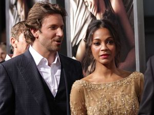 Bradley Cooper splits from Zoe Saldana again