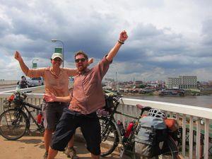 Couple's 16,000km bike ride from Scotland to Cambodia