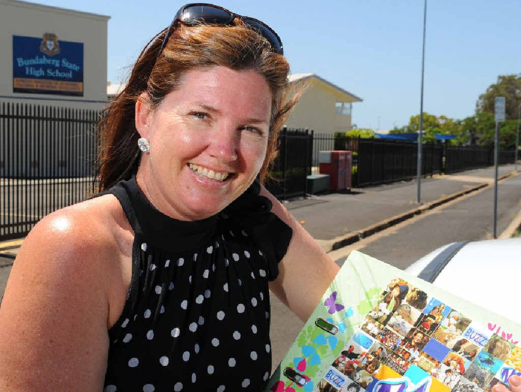NEW YEAR: Teacher and parent Dianne Barrett is excited about the coming year of teaching at Bundy High.