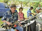 Garry Poole, Alison Bryant, Mark Nuff and Camillo Lanzafame. The Alison Bryant Quartet play for Summer Tunes in Queens Park. Photo Dave Noonan / The Chronicle
