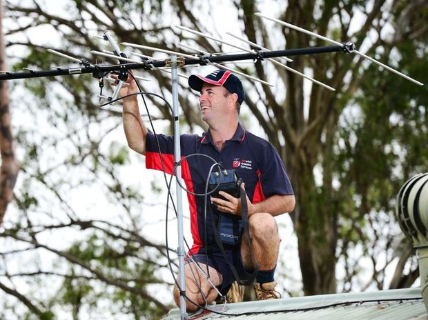 Mark Bryant of Ipswich Antenna Services has seen an increase in business with the soon to be switched off analogue TV signal.