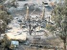 Tassie houses go up in flames