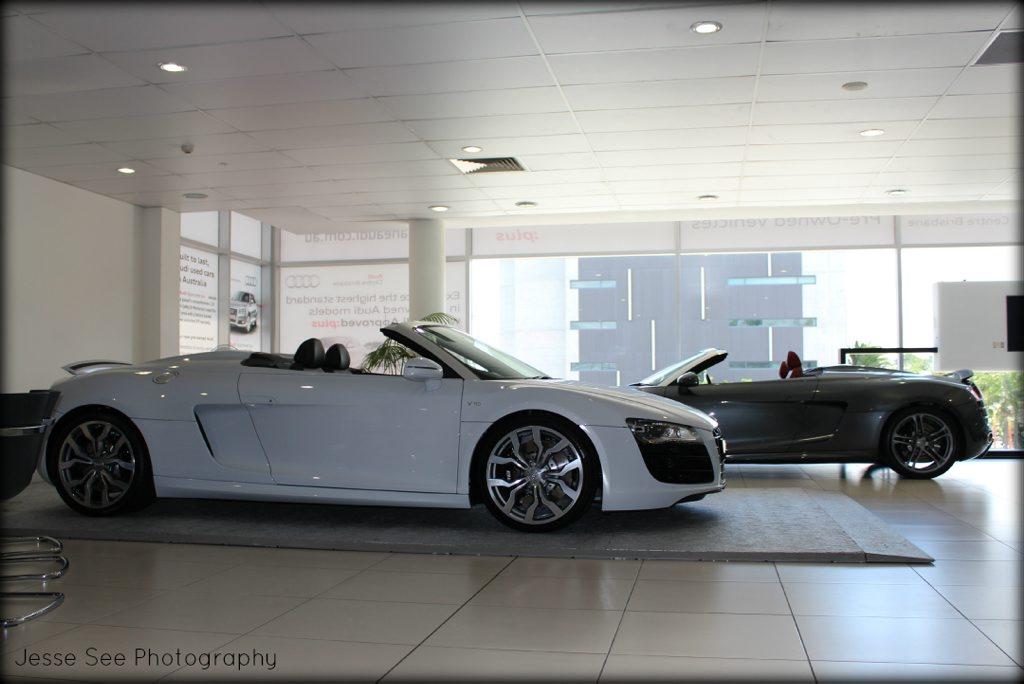Audi's R8 Spyder.