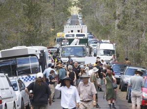 Top cop praises protestors but defends arrests