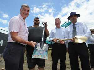First sod turned on hospital site ahead of late 2014 opening