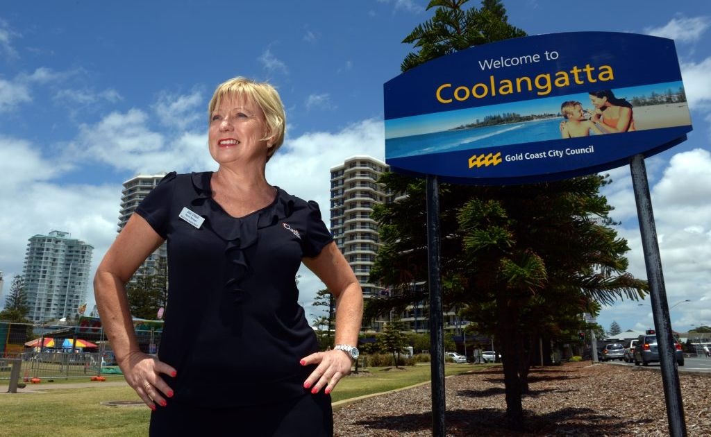 Gail O'Neill has won the Gold Coast businesswoman of the year award.