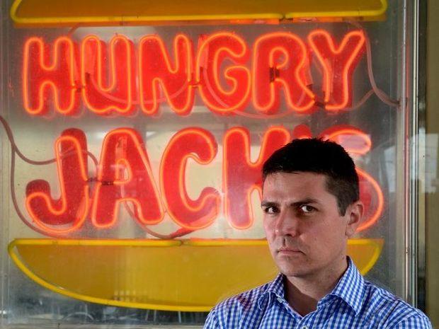 Matthew Fraser at Hungry Jacks Tweed Heads.