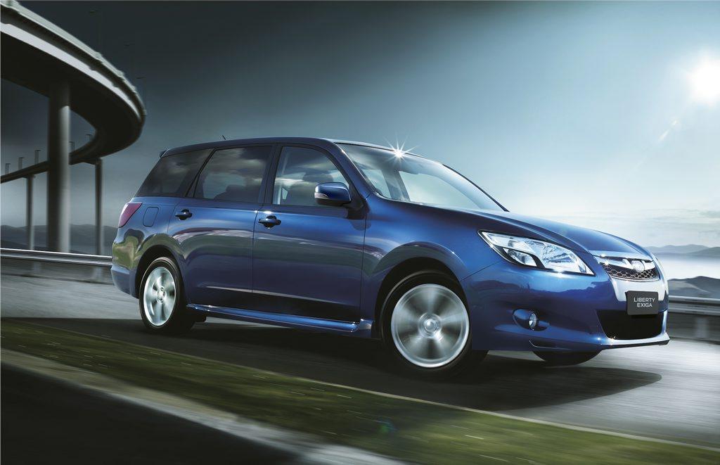 Subaru's Exiga.