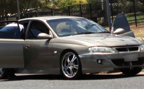 Police intercepted a car in Breakspear St, Gracemere, after an alleged home invasion on Friday.