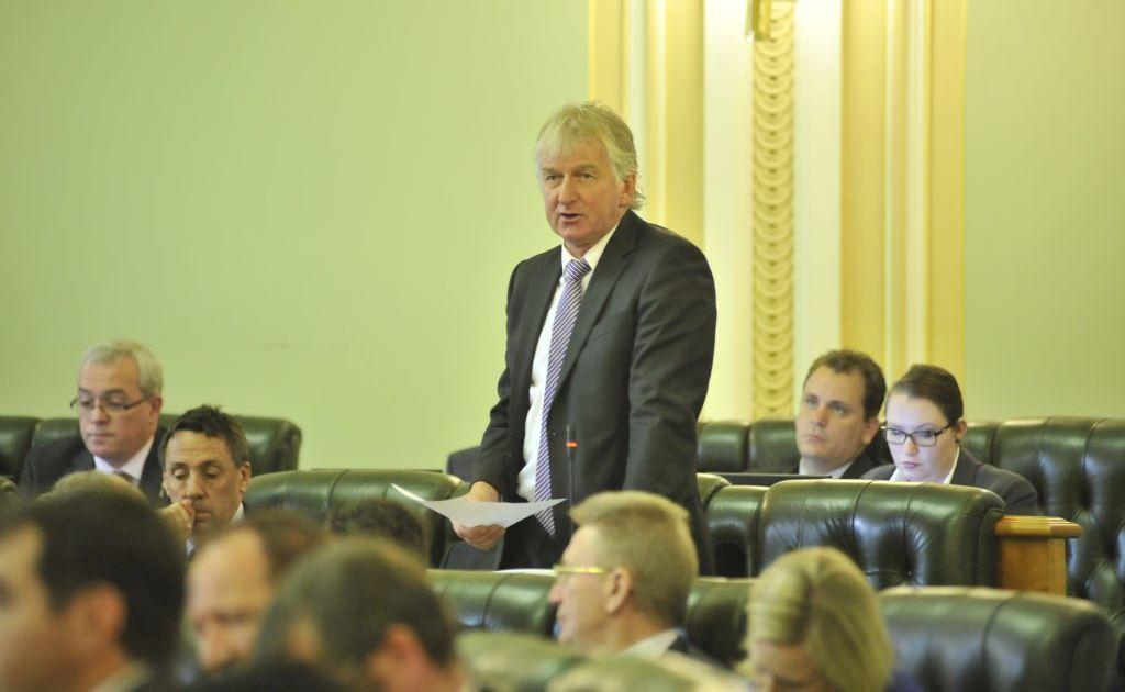 Condamine MP Ray Hopper.