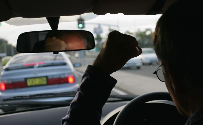 Road rage usually starts because of someone's impatience or a simple mistake.