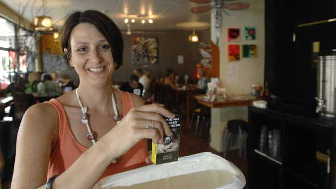 NO SMOKING: Restaurant owner Lisa Yacopetti will make the cafe non-smoking in accordance with new rules by Lismore City Council.