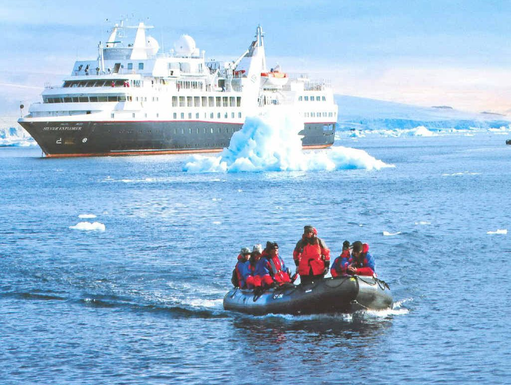 Check out Silversea Expeditions to organise your next polar circle cruise.
