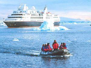 Luxury cruising takes adventurous to remote destinations