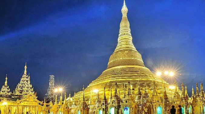 The majestic Shwedagon Paya in Yangon.