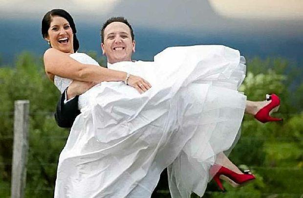 The Sunshine Coast Hinterland is a favourite wedding destination.