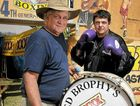 Fred Brophy (left), with boxer James Ellis, is heading to the Rose City this Warwick Show, so gear up boys and girls and get ready for some boot-stompin' brawlin'.