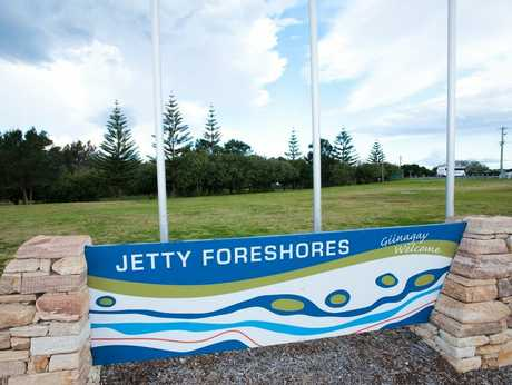 UNDER IMPROVEMENT: The Coffs Harbour Jetty Foreshores.