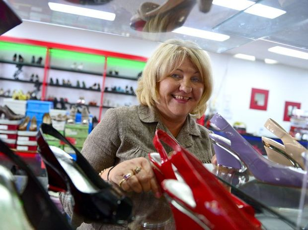 Happy Feet owner Colleen Trevor.