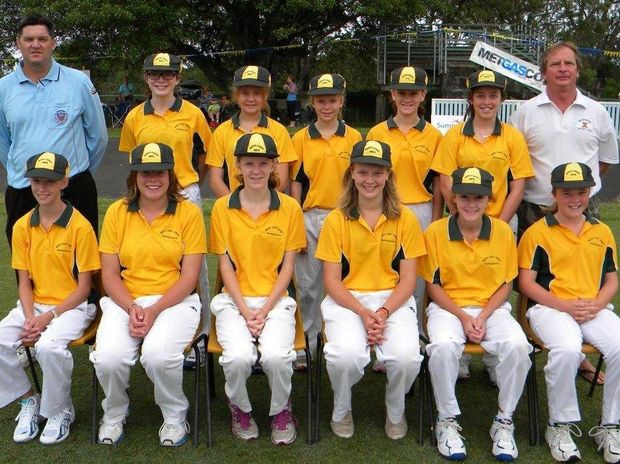 North Coast Rips girls cricket team won the Annita Hancock Shield in Casino on Monday. Players: (back row left to right) Courtney Fuller, Zara Tabor, Ellynie Cameron, Katelyn Beaumont, Natasha Rudder, (front row left to right) Tilly Lugg, Amy Riddell, Carly Leeson, Shinae MacDonald, Chelsea Cotten, Chantelle MacDonald.