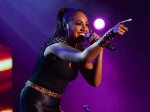 Jessica Mauboy performs at the MECC