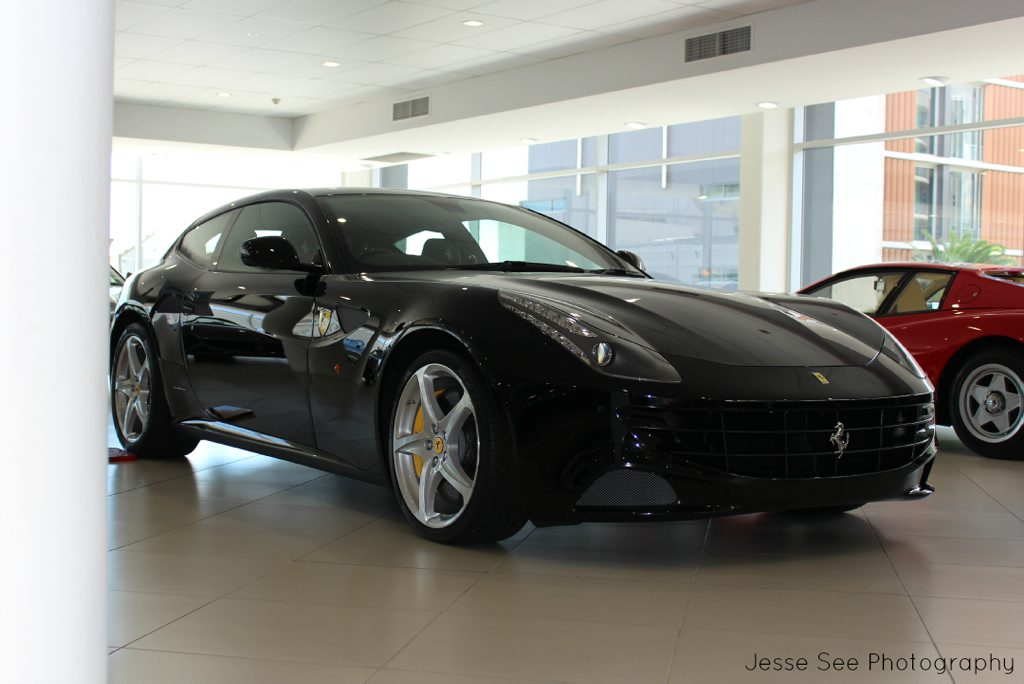 The all-wheel drive Ferrari FF.