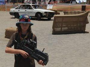 Scouts prepare to ambush Guinness world laser tag record