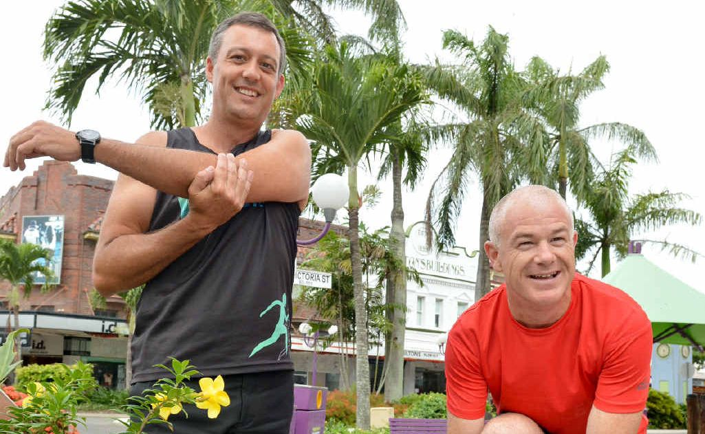 Steve Boxall and Martin Lambert are joining forces to support people whose new year's resolution is to run a marathon.
