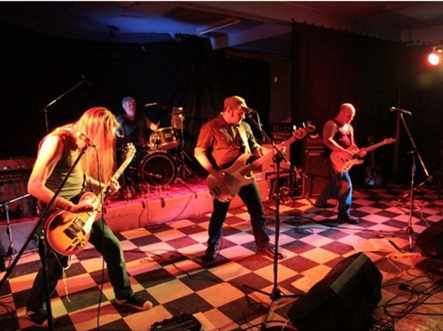 The Bombed Alaskans will rock out on Friday at the Australian Pub. Photo: Contributed