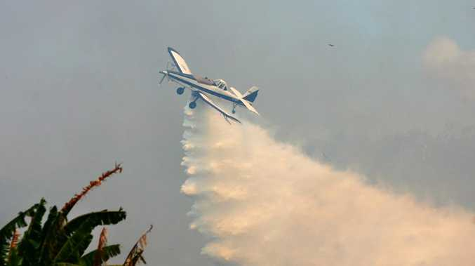 Intensifying fire conditions have led to the stationing of two fixed-wing fire bombers at Casino Aerodrome this week.