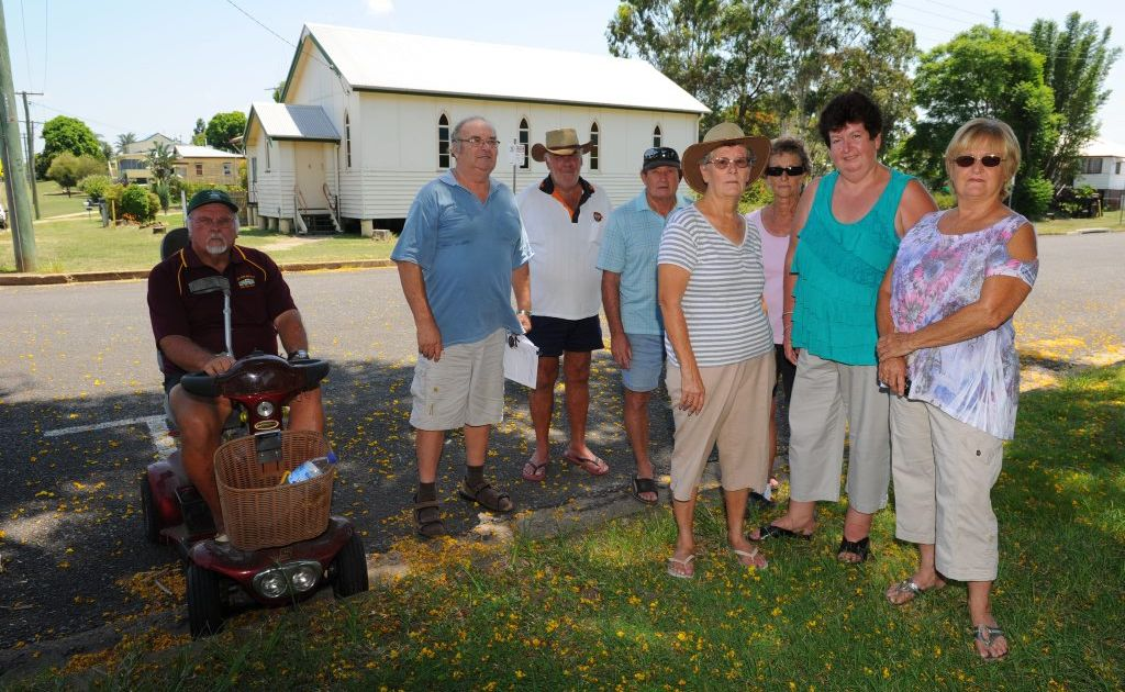 RESIDENTS of Wallaville are mobilising to fight plans to convert an old church in the town into a backpackers' hostel.