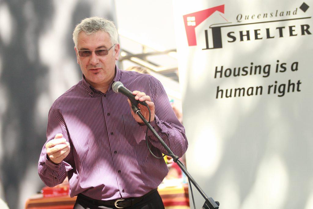 National Shelter chairperson Adrian Pisarski.