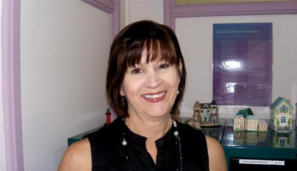 Anglicare Central Queensland housing coordinator Valerie Radloff.