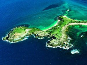 XXXX Island visitors are fishing in green zones