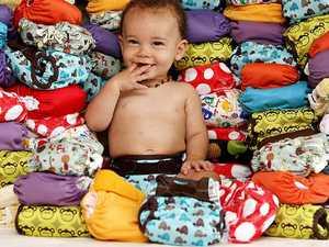 Cloth nappies banned? Not at Hervey Bay Hospital