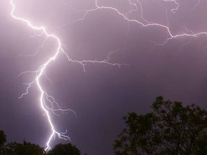 Man struck and killed by lightning