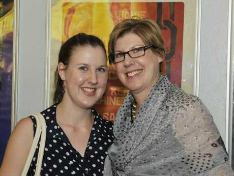 Verity and Jane Wood at the Women in Harmony screening of Les Miserables.