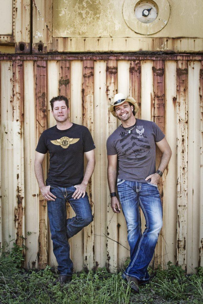 Country music stars McAlister Kemp.
